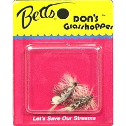 Betts Don's Grasshopper Fly - Size 10