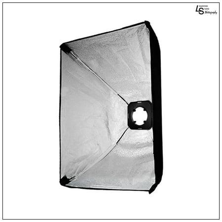 "50x70cm/20""x28"" Photo Softbox Kit with Universal Flash Strobe Head Speed Ring Adapter by Loadstone Studio WMLS0268"