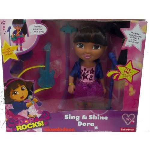 Fisher-Price Rocker Dora the Explorer Doll
