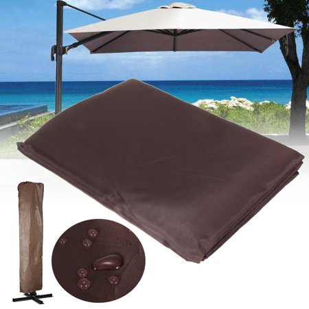 Waterproof Garden Patio Parasol Umbrella Canopy Protective Cover Bag Fit 9-11ft - image 8 of 8