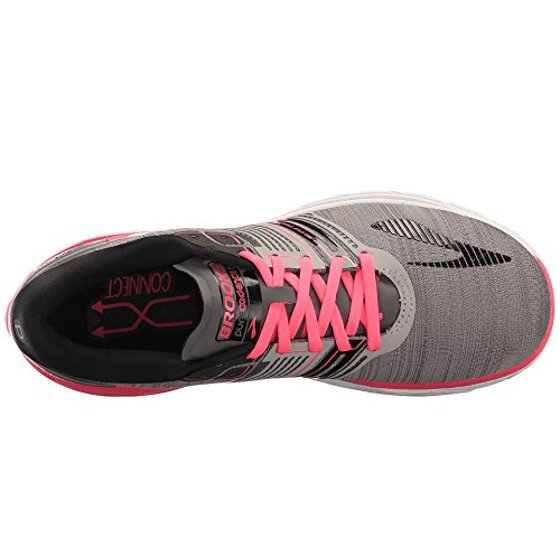 ff9333e8d33 Brooks - Brooks Women s PureCadence 6 Running Shoes (Grey Pink