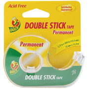 "Duck Brand 1/2"" Permanent Double Stick Tape, 450"""
