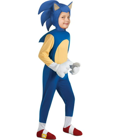 Deluxe Sonic Costume for Boys - Super Sonic Halloween Costume