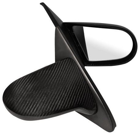 Honda Carbon - Spec-D Tuning For 1992-1995 Honda Civic Jdm Real Carbon Mirrors (Left+Right) 1993 1994