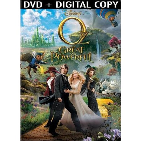 Oz  The Great And Powerful  Dvd   Digital Copy   Widescreen