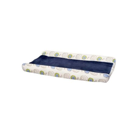 Kids Line Jungle Doodle  Plush Baby Boy Changing Pad Cover Navy - Adult Baby Phone Lines