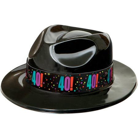 Birthday Cheer 40th Gangster Hat