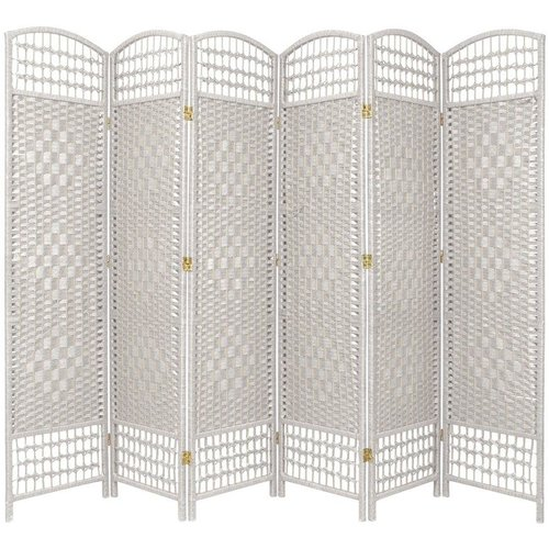 Bay Isle Home Stoffel 6 Panel Room Divider Walmartcom