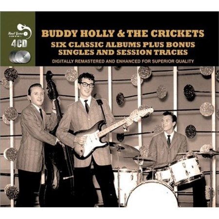 Six Classic Albums Plus  Buddy Holly   Cd   1 Disc