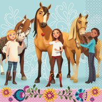 Spirit Riding Free Paper Luncheon Napkins, 6.5in, 32ct