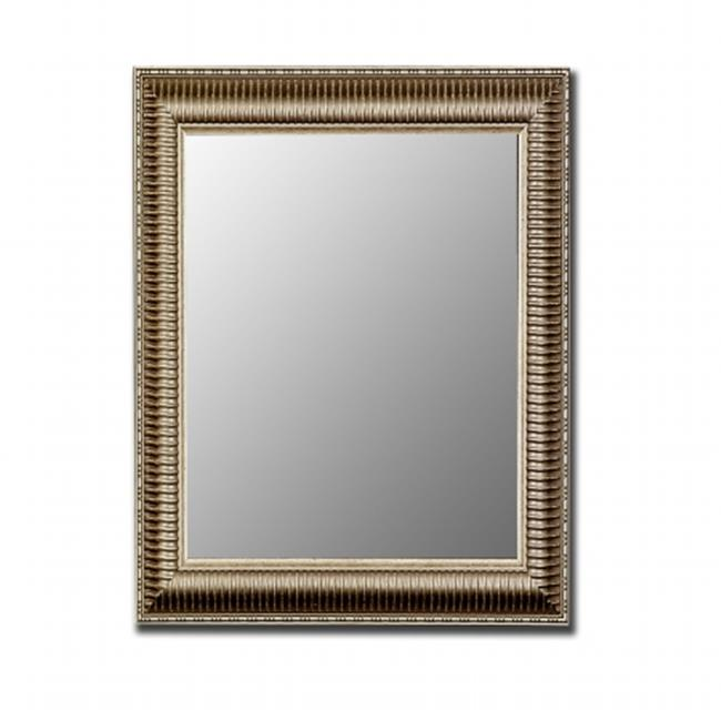 2nd Look Mirrors 320701 23x59 Antique Silver Mirror
