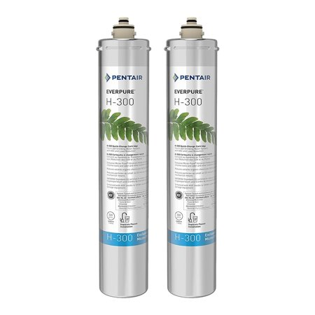 Everpure H104 Replacement Cartridge (Pentair Everpure H-300 Undersink Water Filter Replacement Cartridge (2 Pack))