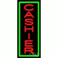 Arter Neon 11530 Business Neon Sign - Cashier