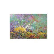Pastel Flowers Wall Art Painting - Canvas Print