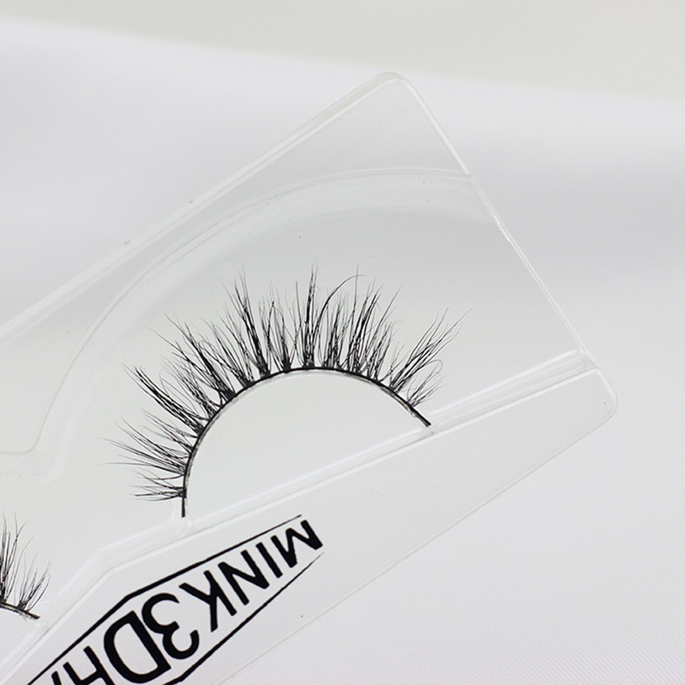 Outtop Real 3D Mink Soft Long Natural Eye Lashes Makeup Thick False Eyelash Extension B