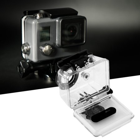1Pc Underwater Waterproof Camera Transparent Housing Case For Gopro Hd Hero 1 2 Newest Drop Shipping Wholesale