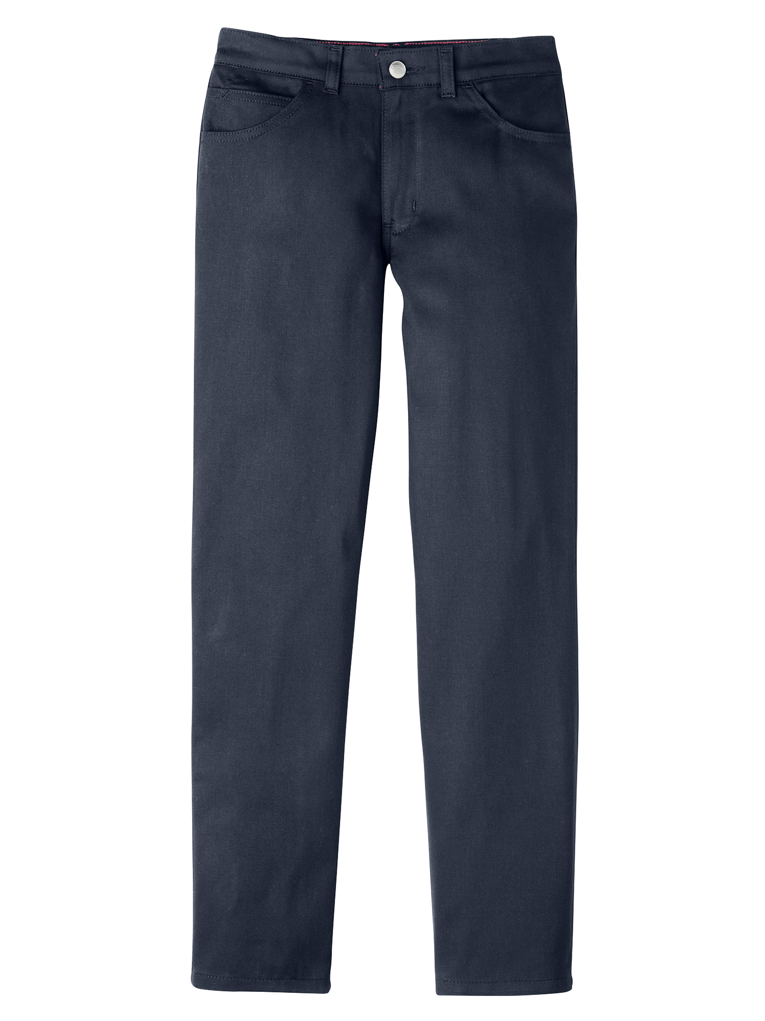 Girls' Skinny Fit Straight Leg 5-Pocket Stretch Twill Pants (Little Girls)