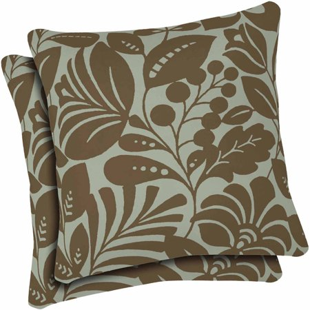 Arden Outdoors Toss Pillow For Patio Set Of 2 Walmart Com