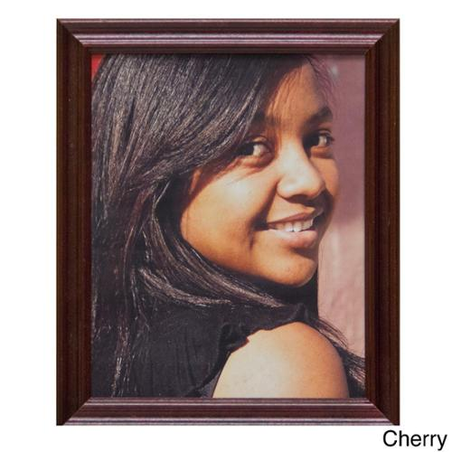 Classic 8 x 10 Wood Picture Frame Black