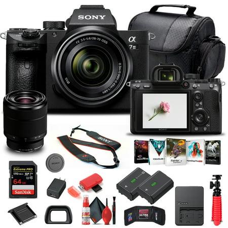Sony Alpha a7 III Mirrorless Camera W/ 28-70mm Lens ILCE7M3K/B - Basic Bundle