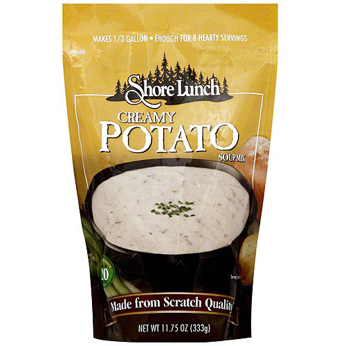 Shore Lunch Creamy Potato Soup Mix, 11.75 oz (Pack of 6)