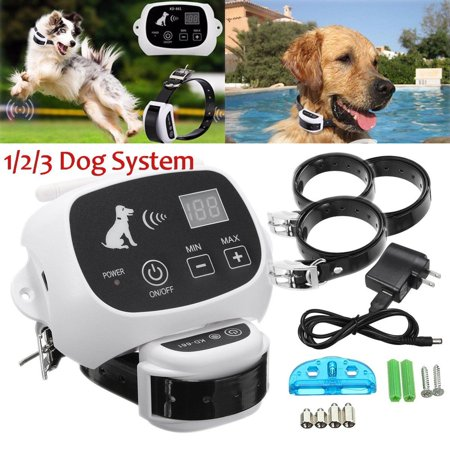 Waterproof Wireless Pet Fence Containment 1 /2 /3 Dog Systems Invisible