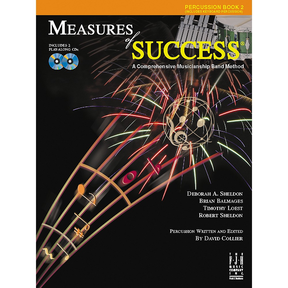 F.J.H Music Co Percussion BB210PER Measures of Success BK 2