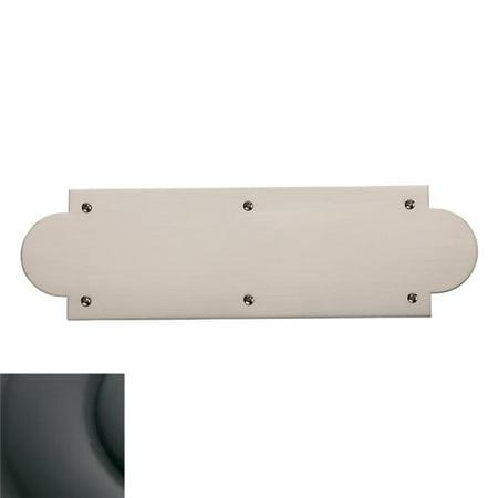 Baldwin Hardware 2262.102 HalfMoon Push (Baldwin Push Plates)