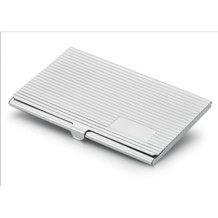 Silver Plated Card Case (Visol V902B Bravada Silver Plated Business Card Case )
