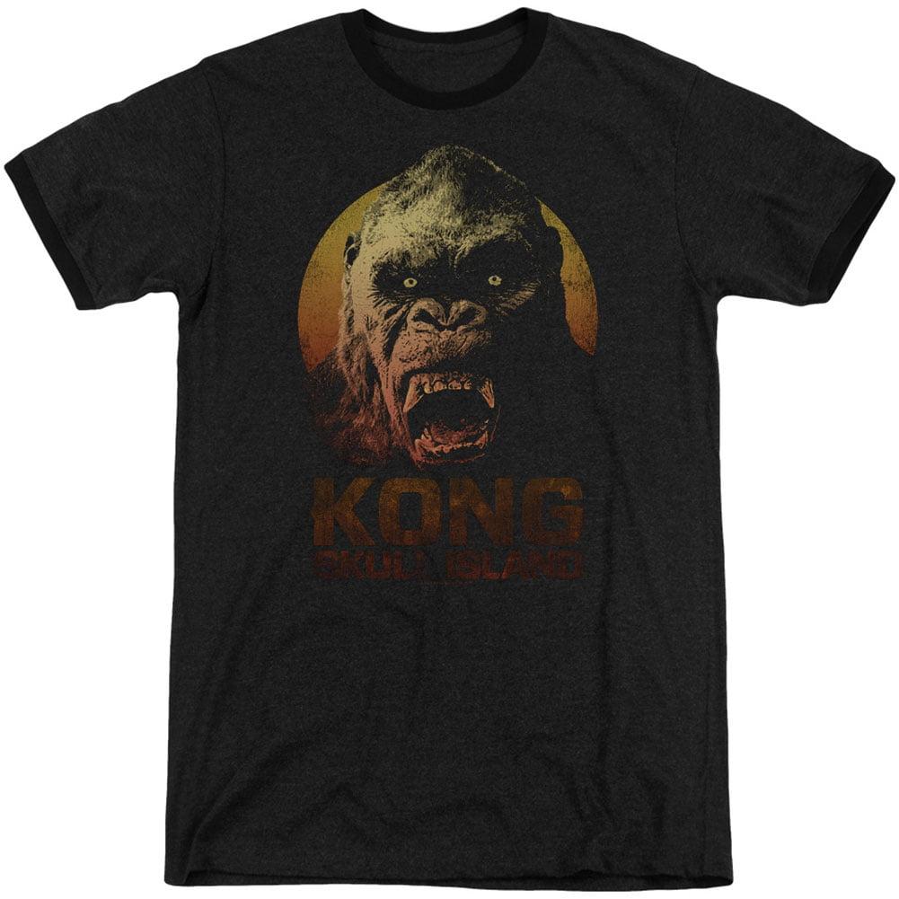 Kong Skull Island Men's  Kong T-shirt Black