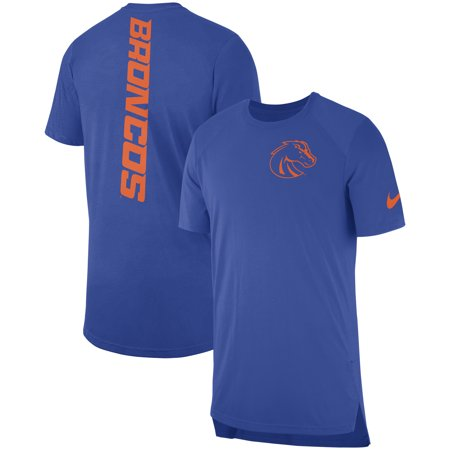 Boise State Broncos Nike 2018 Elite Basketball On-Court Shooter Shirt - Royal