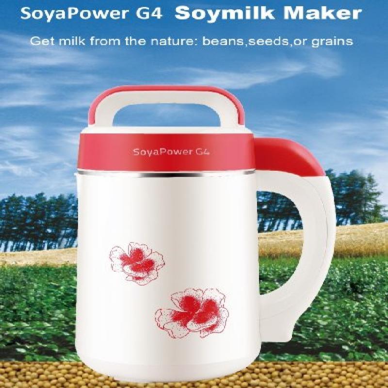 Soyapower G4 Soy Milk Maker, Almond Maker, Rice Milk Make...