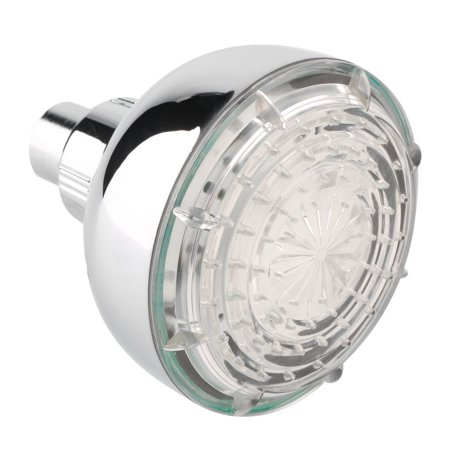 Durable LED Light Shower Heads 7 Colors Changing Faucet Bathroom Showerhead - image 1 de 7
