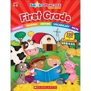 Smart Practice Workbooks: Smart Practice Workbook: First Grade (Paperback)