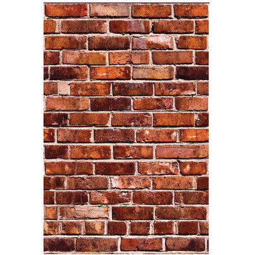 Wallies Brick Wall Mural (Set of 2)