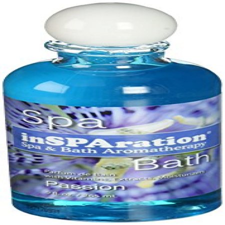 - inSPAration Spa and Bath Aromatherapy 373X Spa Liquid, 9-Ounce, Passion