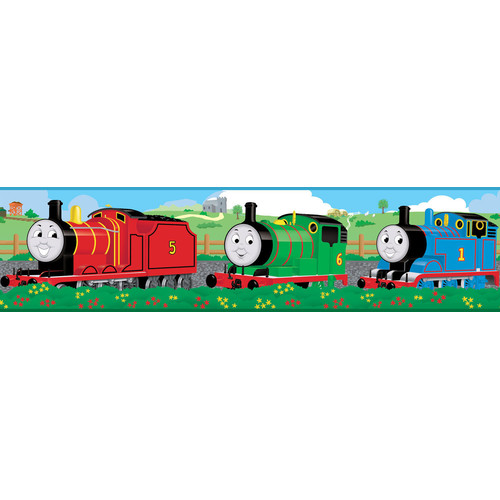 RoomMates - Thomas the Train Peel & Stick Wall Border