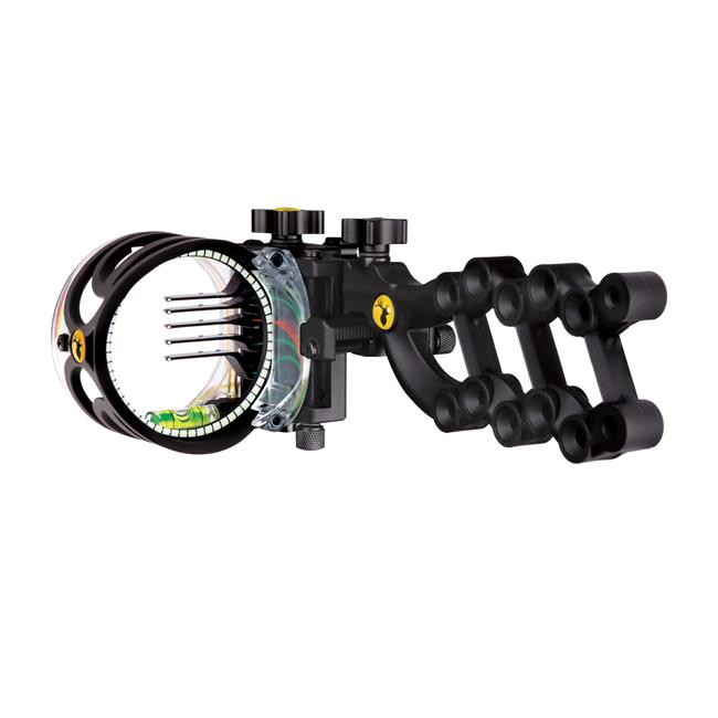 Trophy Ridge 135557 React 5 Pin Bow Sight in Black - Right Hand