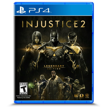 Injustice 2: Legendary Edition, Warner Bros, PlayStation 4, 883929632947 - Two Bros