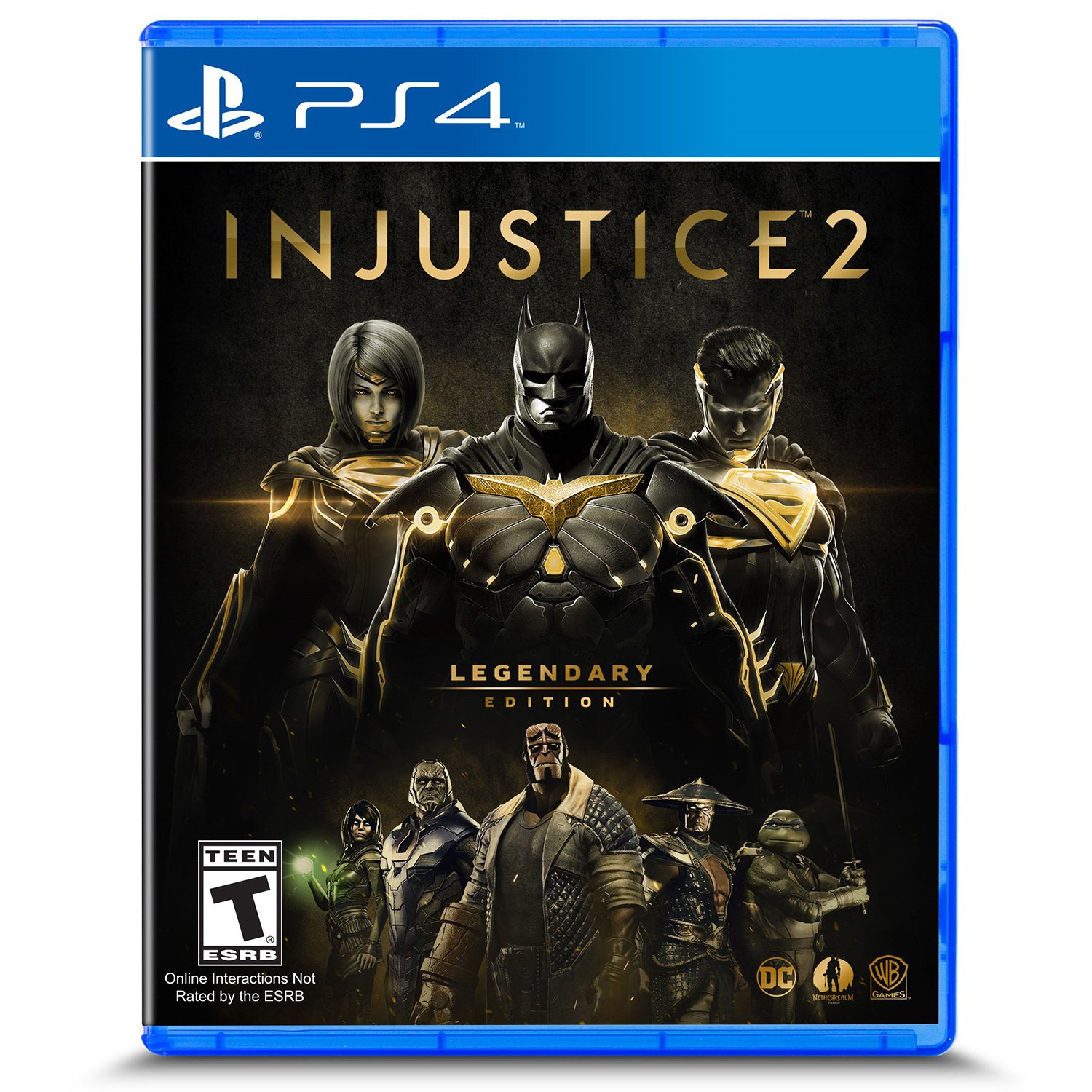 Injustice 2: Legendary Edition, Warner, PlayStation 4, 883929632947