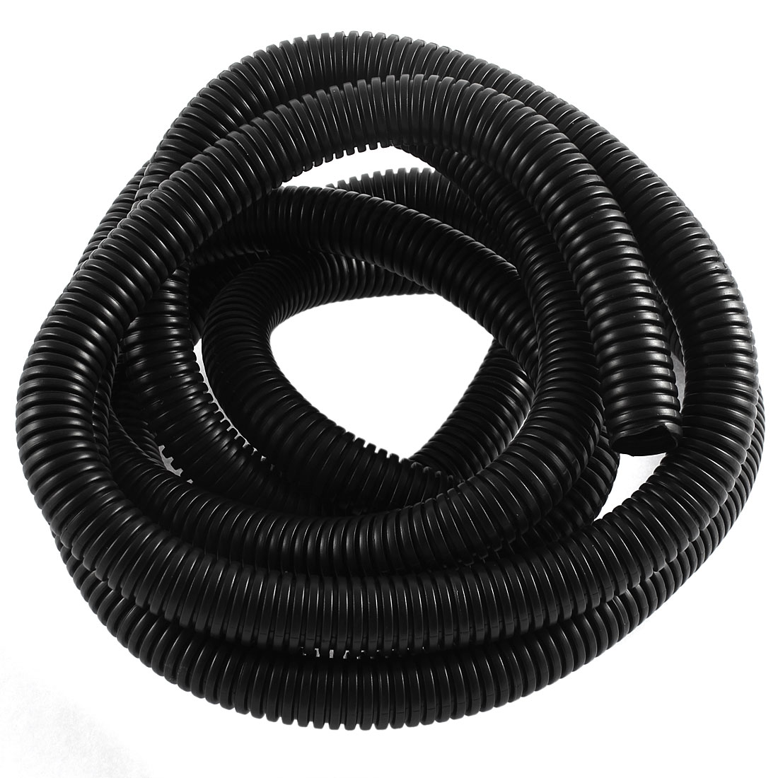 12ft PVC Flexible Corrugated Tubing Wire Cable Conduit Tube Pipe 14.5 x 18.5mm