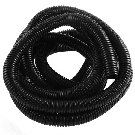 12ft PVC Flexible Corrugated Tubing Wire Cable Conduit Tube Pipe 14.5x18.5mm