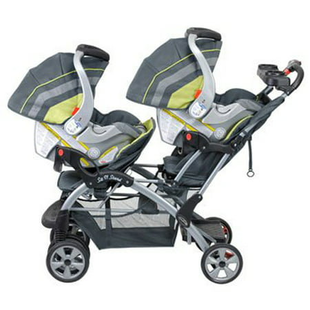 Baby Trend Sit N Stand Double Stroller, Carbon