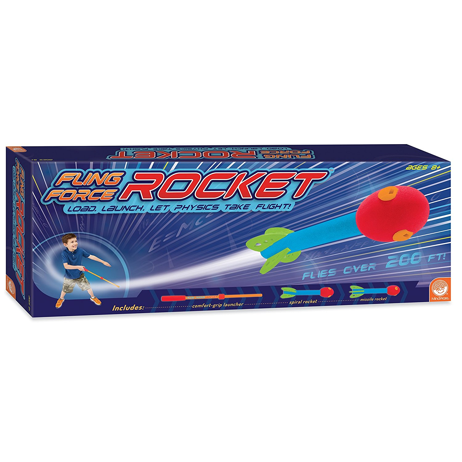 Fling Force Rocket, TOYS THAT TEACH: The Fling Force Rock...