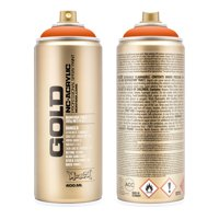 Montana GOLD 400 ml Spray Color, Shock Orange