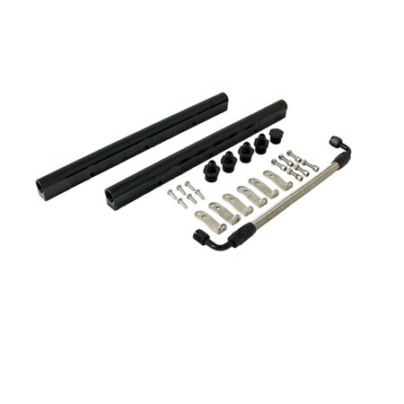 TSP LS1 Fuel Rail with Middle Pipe 81008BK