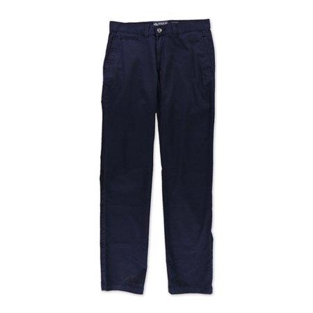American Rag Mens Slim Straight Solid Casual Chino Pants