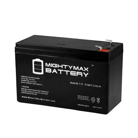 12v 7.2ah sla battery replacement for garmin fishfinder