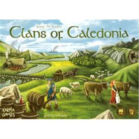 Karma Clans of Caledonia Board Game