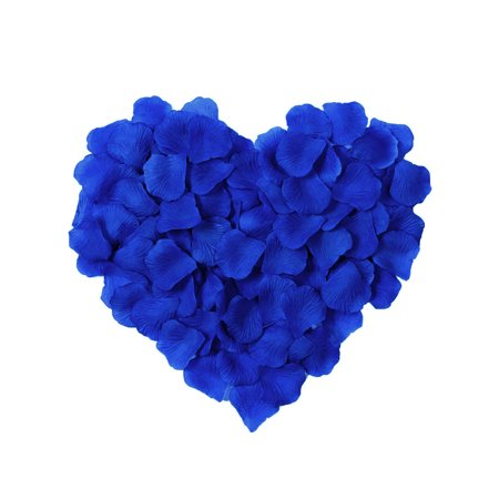 500pcs Artificial Silk Rose Flower Petals Wedding Decor Bulk Royal (Purple Silk Rose Petals)